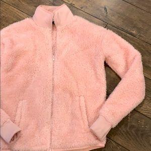 Fila Sport Soft Fuzzy Pink Jacket